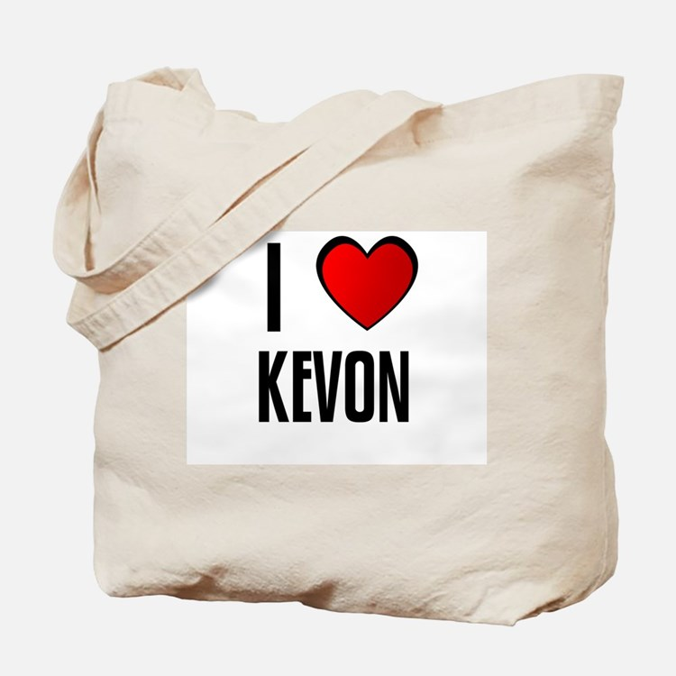 I LOVE KEVON Tote Bag