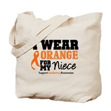 Leukemia Niece Tote Bag