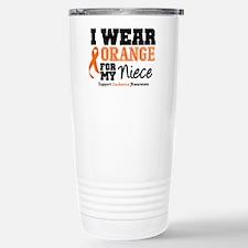 Leukemia Niece Travel Mug