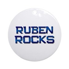 ruben rocks Ornament (Round)