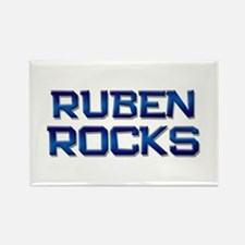 ruben rocks Rectangle Magnet