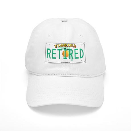 Florida Retired Vanity Plate Cap