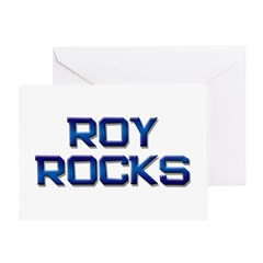 roy rocks Greeting Card