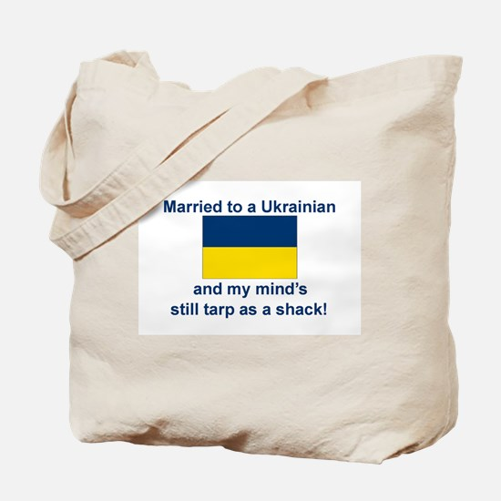 Married To A Ukrainian Tote Bag