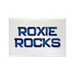 roxie rocks Rectangle Magnet (10 pack)