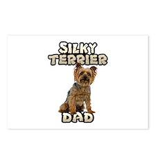 Silky Terrier Dad Postcards (Package of 8)