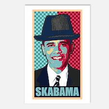 SKABAMA Postcards (Package of 8)