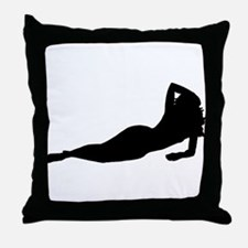 Randy Mandy Throw Pillow