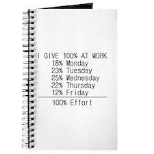 100% effort Journal