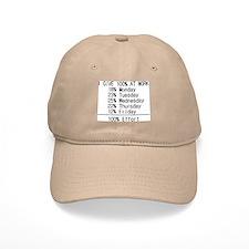 100% effort Baseball Cap