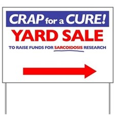 Right Arrow Yard Sign