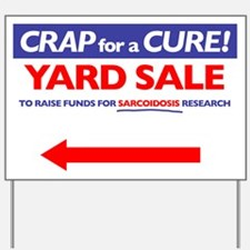 Left Arrow Yard Sign