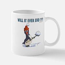 Snowbound Penguin Mug