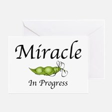 Miracle In Progress Greeting Card