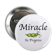 """Miracle In Progress 2.25"""" Button"""