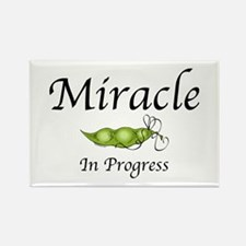 Miracle In Progress Rectangle Magnet