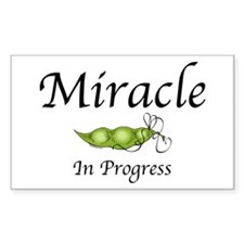 Miracle In Progress Rectangle Decal