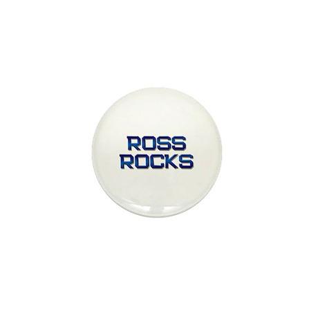 ross rocks Mini Button