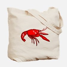 Louisiana Crawfish Peeling Tote Bag