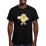 Cute Little Girl Chick Men's Fitted T-Shirt (dark)
