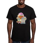 Garden Time Baby Girl Ducky D Men's Fitted T-Shirt