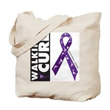 Purple ribbon for pancreatic Tote Bag
