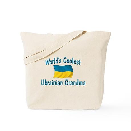 Coolest Ukrainian Grandma Tote Bag