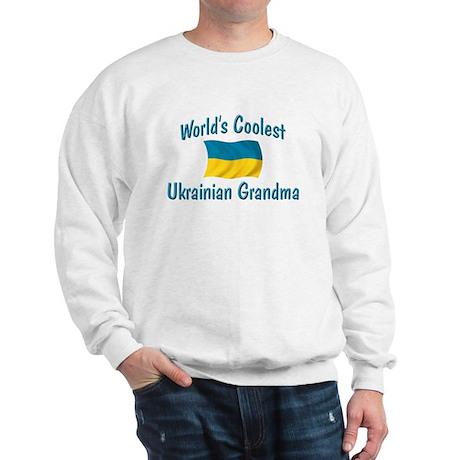 Coolest Ukrainian Grandma Sweatshirt