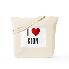 I LOVE KEON Tote Bag
