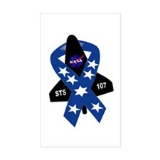 In Memory: Columbia Rectangle Decal