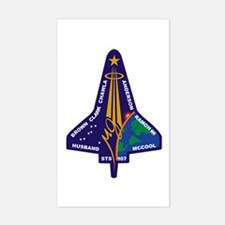 STS-107 Columbia Rectangle Decal
