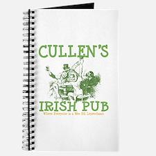 Cullen's Irish Pub Personalized Journal