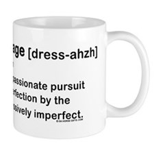 Dressage Horse Dictionary Small Mug
