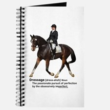 Dressage Horse Dictionary Journal