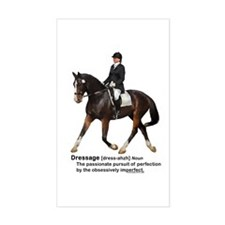 Dressage Horse Dictionary Decal