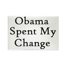 Obama Spent Rectangle Magnet (100 pack)
