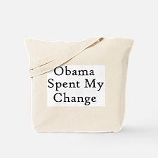 Obama Spent Tote Bag