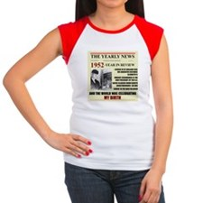 1952-BIRTH Women's Cap Sleeve T-Shirt