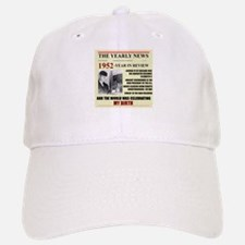 1952-BIRTH Baseball Baseball Cap