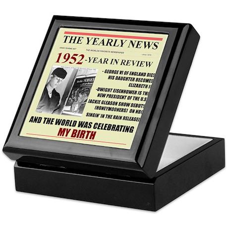 1952-BIRTH Keepsake Box
