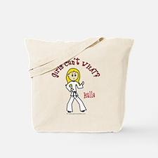 Martial Artist (Halle) Tote Bag