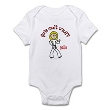 Martial Artist (Halle) Infant Bodysuit