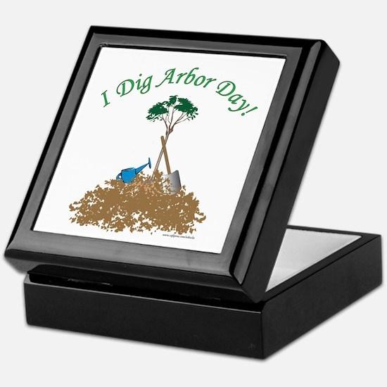I Dig Arbor Day Keepsake Box
