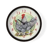 Chicken Wall Clocks