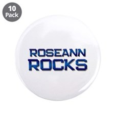 "roseann rocks 3.5"" Button (10 pack)"