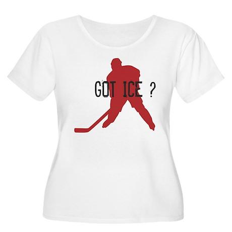 Got Ice? Women's Plus Size Scoop Neck T-Shirt