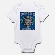 Seattle Gorilla FC Infant Bodysuit