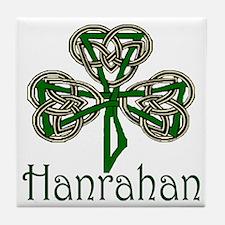 Hanrahan Shamrock Tile Coaster