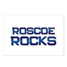 roscoe rocks Postcards (Package of 8)