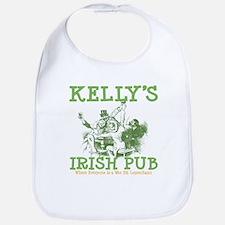 Kelly's Irish Pub Personalized Bib